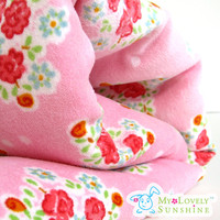 Garden Of Roses Velvet Cotton Fabri.. on Luulla