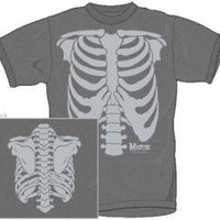 ROCKWORLDEAST - The Misfits, T-Shirt, Full Burnout Skeleton
