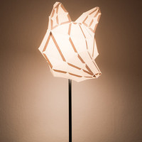 Fox Medium - do it yourself paper lampshade
