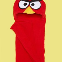 ideeli | AME Red Angry Birds Hooded Blanket