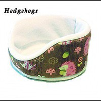Cuddle Cup open bed for small pets guinea pigs rats hedgehogs Fabric Choices!