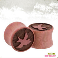 Swallows | Wood Plugs | Omerica Organic