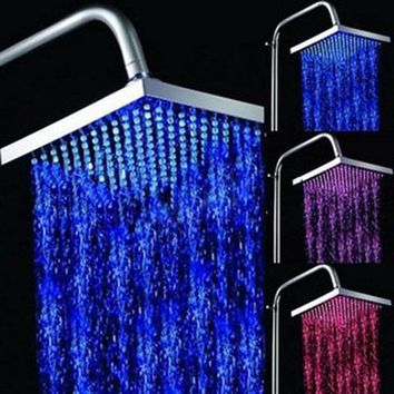 Sumerain S4003CLB Color Changing LED Showerhead - Fixture Universe