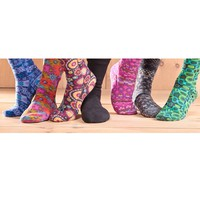 Acorn® Men's and Women's Mid-Cut Fleece Socks - Plow & Hearth