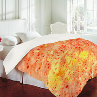 DENY Designs Home Accessories | Rosie Brown Florida Orange Duvet Cover