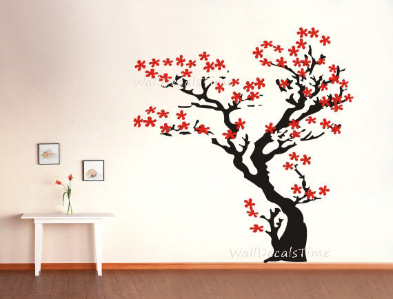 Cherry Blossom Wall Decal Tree Wall Decal from ...