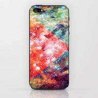 Stars on Fire iPhone & iPod Skin by Caleb Troy | Society6