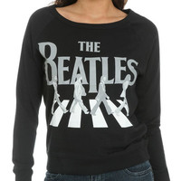 The Beatles Screened Sweatshirt | Shop Tops at Wet Seal