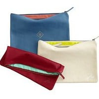 everyday leather zip pouch | Mark and Graham