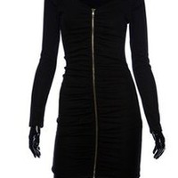 GaGa Sleeve Zipper Dress  — Tanny's Couture LLC