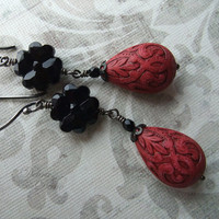 Latin Flamenco Earrings by debradane on Etsy