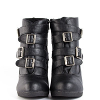 Buckled Booties - 2020AVE