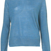 Knitted Linen Mix Jumper