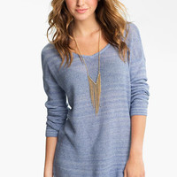 Rubbish® Knit Oversized Sweater (Juniors) | Nordstrom
