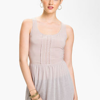 Rubbish &#x27;Delicate&#x27; Sheer Tank (Juniors) | Nordstrom