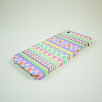 Pastel Aztec Geometric  iPhone 5 Case, iPhone 5 Cover, Hard iPhone 5 Case