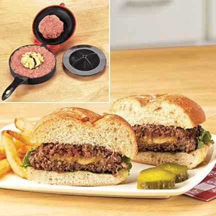 Stuffed Burger Mold - Fresh Finds - Cooking > Cooking & Baking