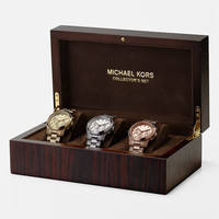 Michael Kors &#x27;Runway&#x27; Boxed Watch Set | Nordstrom