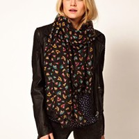 Oasis Pencil Shavings Scarf at asos.com