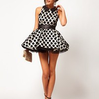 Miss Francesca Couture Spot Sequin Dress at asos.com