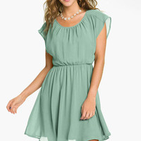Lush &#x27;Stella&#x27; Chiffon Dress (Juniors) | Nordstrom