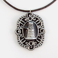 Dalek Cameo Pendant And Necklace on Luulla