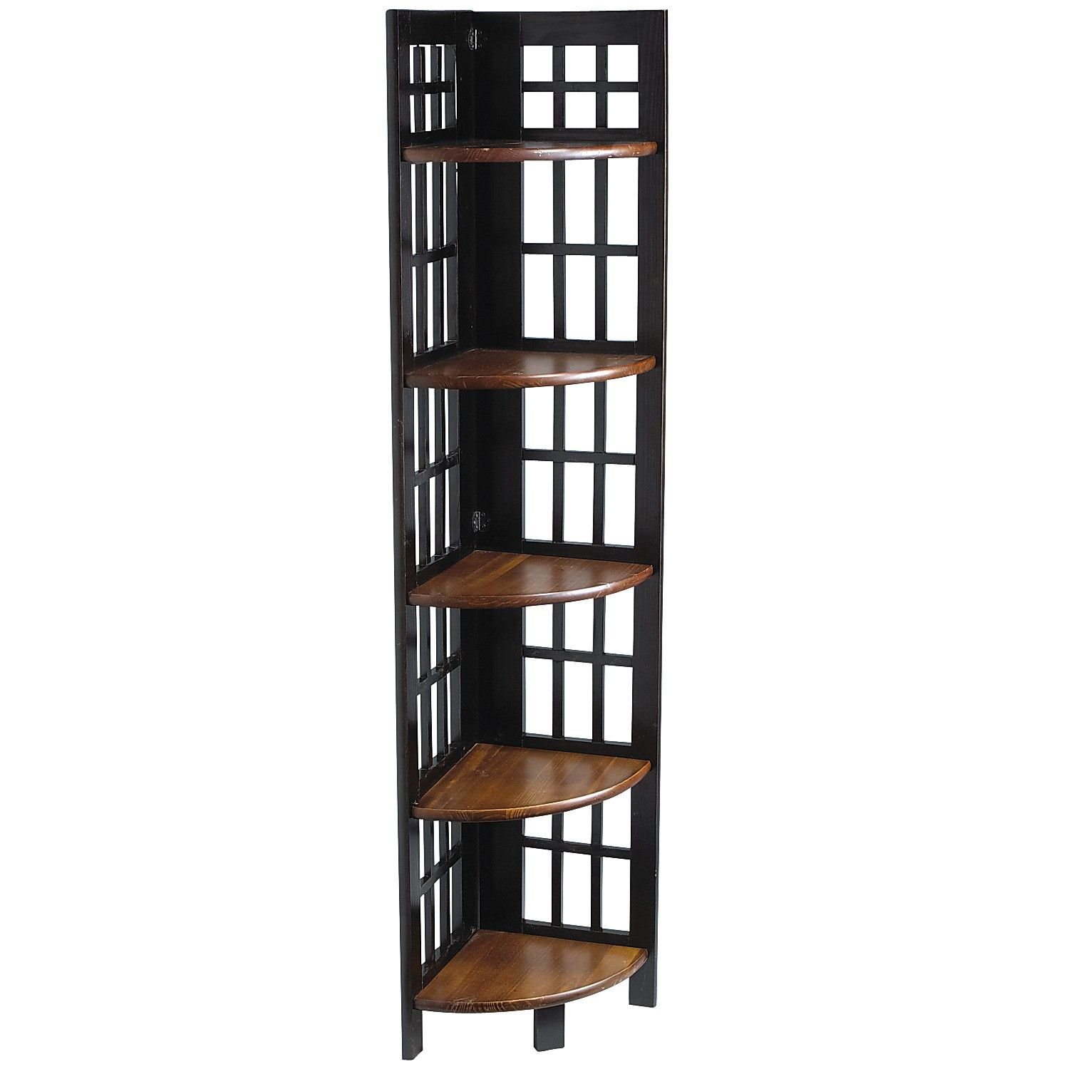 Fretted Folding - Tall Corner Shelf from Pier 1 imports