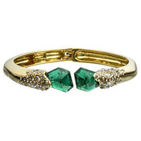 Bel Air Druzy Crackle Hinge Bracelet :: Bracelets :: Miss Havisham :: Collections :: Alexis Bittar