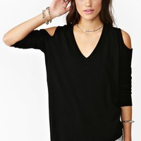 Lights Out Knit Top - Available in Sizes S-L