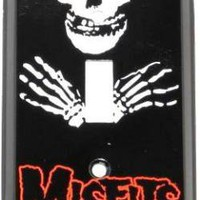 ROCKWORLDEAST - The Misfits, Light Switch Cover, Crimson Ghost