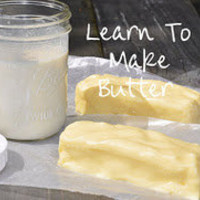 Life At Cobble Hill Farm: Homemade Butter