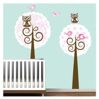 Vinyl Wall Decal StickerNursery Tree Decal by Modernwalls on Etsy