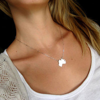 Australia Love Necklace