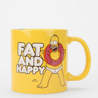 Simpsons Fat And Happy Mug