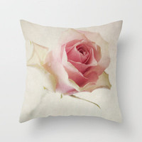 A Flower for You [Textured] Throw Pillow by secretgardenphotography [Nicola] | Society6