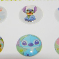 Disney Lilo and Stitch Home Button Stickers for iPhone 3,iPhone 4/4S,iPod,iPad - 6 Pack