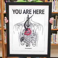 Kyle & Courtney Harmon: I Screen You Screen Print 22x28, at 25% off!