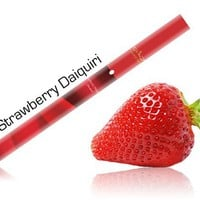 Luxury Lites Disposable E-Hookah -- Strawberry Daiquiri Flavor: 100% Tobacco-free