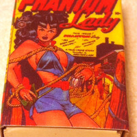 Comic Book Vixens Matchboxes Set of 4
