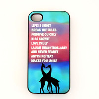 IPhone4 Case IPhone4S Case Fun Quot.. on Luulla
