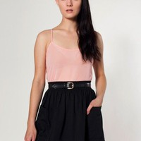 American Apparel Jersey Pocket Skirt X-Small-Black