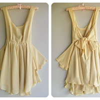 A Party Cocktail Prom Party Dinner Wedding Night by Thaiclothes, creme