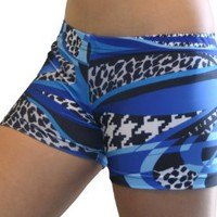 "GemGear Mamba Print 2.5"" Inseam Compression Shorts"