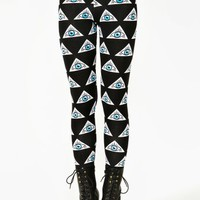 Evil Eye Leggings