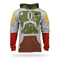 ThinkGeek :: Boba Fett Hoodie