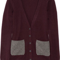 Chinti and Parker|Contrast pocket cashmere cardigan|NET-A-PORTER.COM
