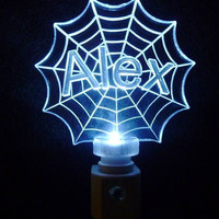 SpiderMan Night Light Personalized LED