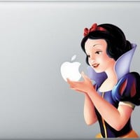 MacBook SnowWhite Decal Skin, Sticker