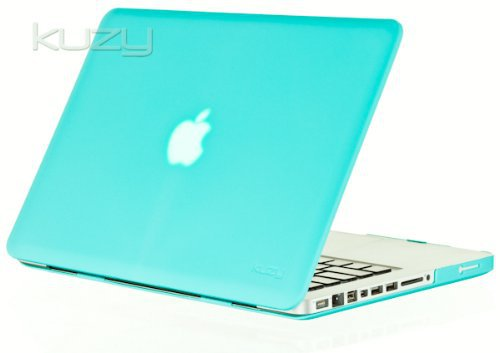 Kuzy 13-Inch Rubberized Satin Hard Case for Macbook Pro 13.3-Inch - A1278 with or without Thunderbo