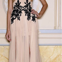 Zuhair Murad Dresses For Sale Sexy One Shoulder Black Lace Chiffon Long Prom Dresses Evening Dresses Zh43 - Buy Zuhair Murad Evening Dresses,Zuhair Murad Dress,Black Lace Prom Dresses Product on Alibaba.com